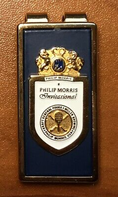 Gary Carter (personally owned) Philip Morris Invitational Golf Money Clip N/M