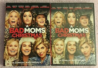 A Bad Moms Christmas (DVD, 2018, Widescreen) Brand New Sealed