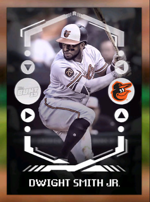2019 BUNT DIGITAL WHITE DROP 1 DWIGHT SMITH JR. LE 500CC Topps Bunt Digital Card