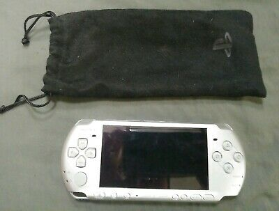 Sony PSP-3000 Portable Mystic Silver Handheld System with 1 GB Memory Stick