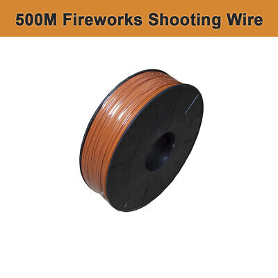 500M Fireworks Shooting Wire fireworks firing system  0.45mm copper core wire
