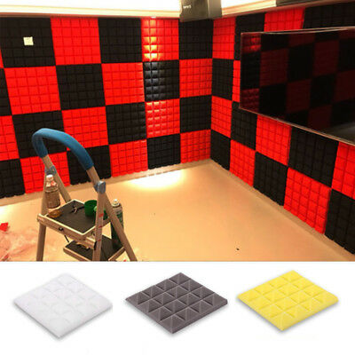 Acoustic Foam Panel Sound Absorption Sponge Studio KTV Soundproof Tool Accessory