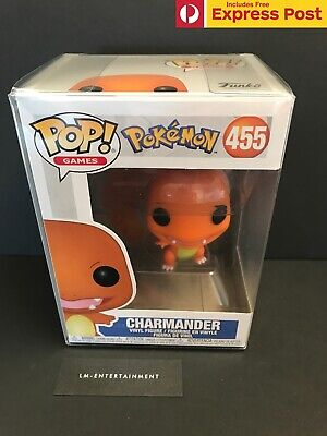 Pokemon Charmander Funko Pop! Vinyl Figure - #445 - New - In Stock Now!
