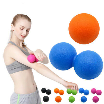 Lacrosse Fitness Peanut Gym Relaxing Exercise Yoga Massage Ball Release Muscle