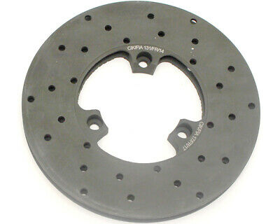 Righetti Front Brake Disc Drilled And Ventilated L/H 160mm x 12mm Go Kart