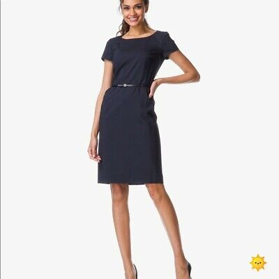 616d7ca157b55 HUGO BOSS DAMEN Kleid DILYA
