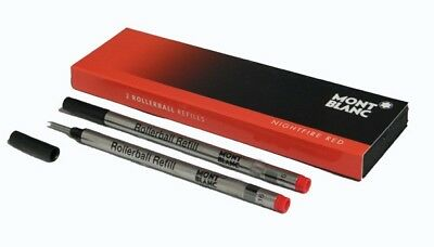 Montblanc 2 recharges pour rollerball (M) Nightfire Red