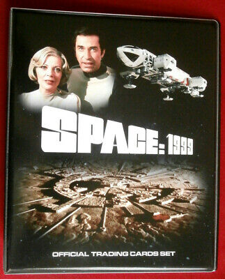 SPACE 1999 - OFFICIAL Trading Card BINDER + ALL 54 BASE CARDS Unstoppable 2016