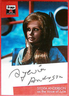 The Lost Worlds of Gerry Anderson - SYLVIA ANDERSON (as Julie) Autograph Card
