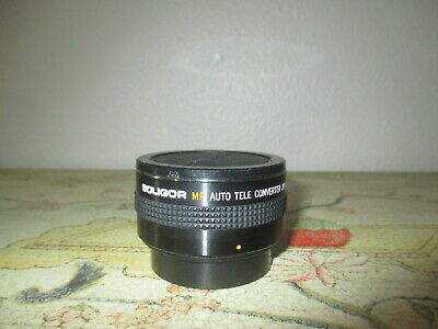 Soligor Mp Auto Tele Converter 2X Lens For Pentax-K In Case