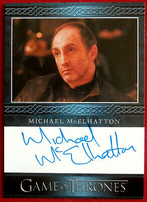 GAME OF THRONES - MICHAEL McELHATTON, Roose Bolton - AUTOGRAPH Card - 2013