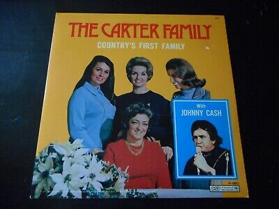 The Carter Family - Country's First Famile W/ Johnny Cash - Lp