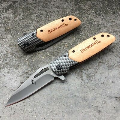Sale ! Browning X26 Camping Survive TACTICAL Hunting Knives Pocket Folding Knife