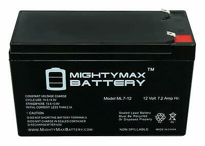 12V Battery for Kids Ride On Car 12 Volt Battery for Power Wheels 12V 7 Amp Hr.