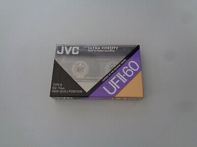 Cassette Audio Chrome JVC 60min - K7 Neuf