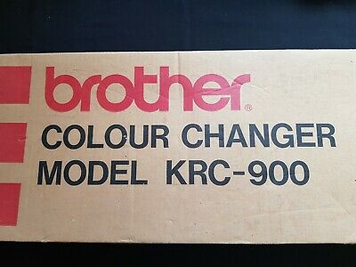 Brother Knitting Machine Parts Krc900 Krc-900 Double Four 4 Colour Changer Boxed