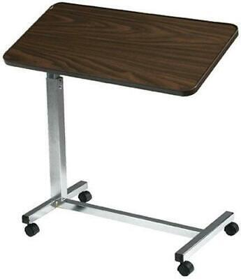 Drive Medical Deluxe Tilt-Top Overbed Table Over Bed Height Adjustable
