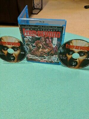 From Beyond (Blu-ray, collector's edition) Jeffrey Combs! RARE HORROR!