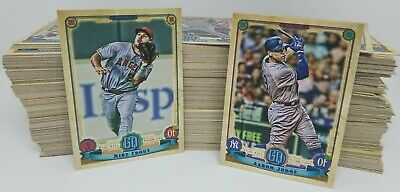 2019 Topps Gypsy Queen BASE CARDS 1-300 YOU PICK & COMPLETE YOUR SET