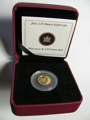 2011 Proof 50 cents GML #8-Canada Geese Goose 1/25oz .9999 Gold fifty