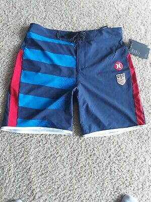 58a6bc447b Mens Hurley Phantom USA National Team 18