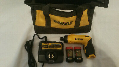 DEWALT DCF680N2 Max 8V Gyroscopic Screwdriver OPENED BOX / NEVER USED