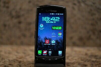 KYOCERA BRIGADIER E6782 16GB Black Android Verizon Wireless
