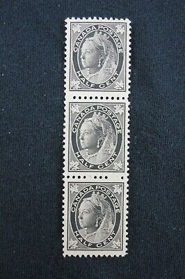 "Canada Stamp collection Queen Victoria ""Maple Leaf"" x3 Mint NG- Scott #66  CV$60"