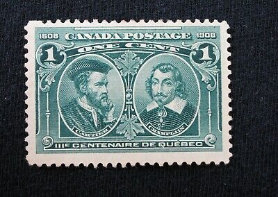 Canada Stamp collection Cartier & Champlain Mint NG- Scott #97  CV$50