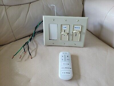 Remote Control For Antique Vintage Ceiling Fans-Hunter/Emerson/Ge/Westinghouse