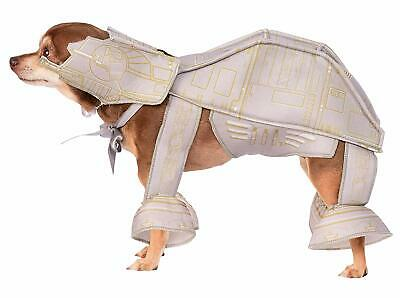 AT-AT Imperial Walker STAR WARS Dog Costume - S L XL Jacket/Legs, Headpiece -NWT