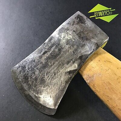 AWESOME VINTAGE GILPINS CANNOCK 2lb HATCHET TOMAHAWK AXE ENGLAND WEDGES MILLS