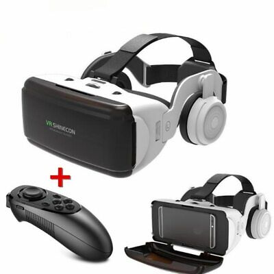 NEW SEALED AXE Virtual Reality VR Headset Google 3D Glasses FREE