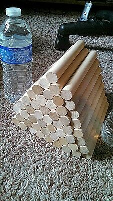 3/4 inch Birch dowel rods (20)