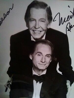 Photo signed by both Sid Caesar and Milton Berle.