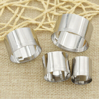 4Pcs/Set Stainless Steel Round Clay Cutter Mould  For Clay DIY Cutting Tools