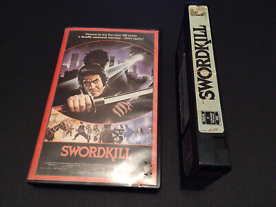 Swordkill Australian Vhs Video W.a.s.p. Wasp 1984 Band Pal Format Ghost Warrior