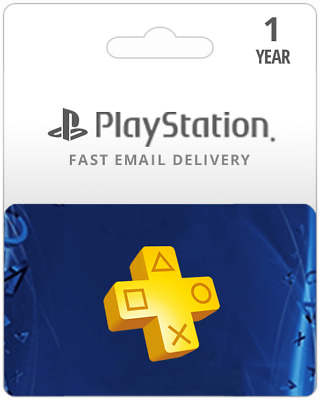 Sony PlayStation Plus 1 Year Subscription Membership (Digital Key) - US ONLY!!!!
