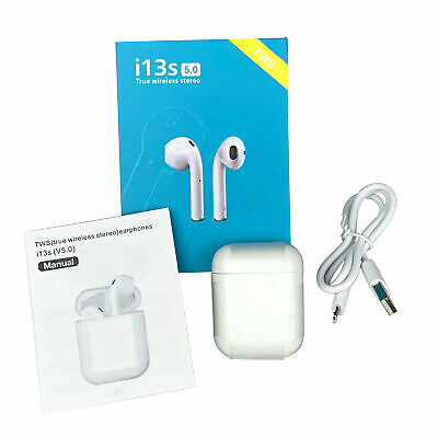 i13 TWS Bluetooth 5.0 Wireless Charging Earbuds Touch Control Stereo headset