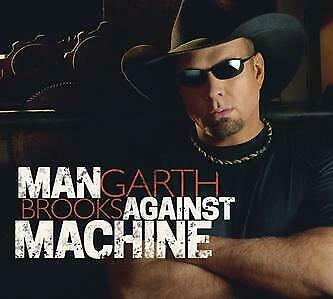 Garth Brooks (Man Against Machine - Cd Sealed + Free Post)