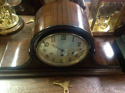 Antique Junghans Westminster Chime Clock, Serviced
