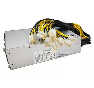APW3+-12-1600-A3 Switching Power Supply for Bitmain AntMiner L3+ S9 T9