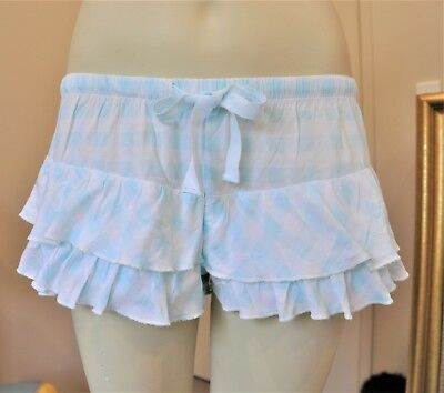 Peter Alexander Xs Frilled Sleep Shorts New With Tags