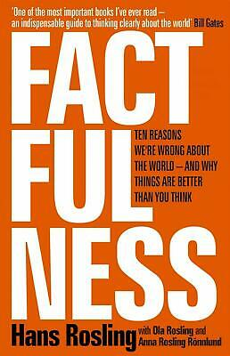 Factfulness: Ten Reasons We're Wrong About the World e-Delivery ⚡FAST⚡