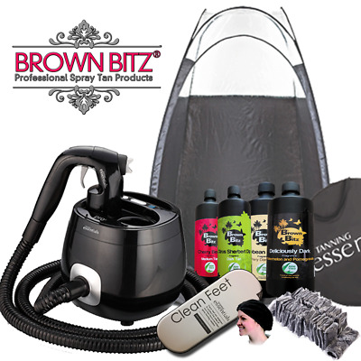 Professional Spray tan Pro V machine package With pop up tent and much more