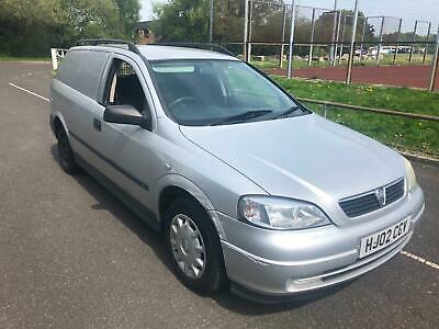 2002 Vauxhall Astra van 1.7DTi 16v 2002 new 12 month mot and warranty