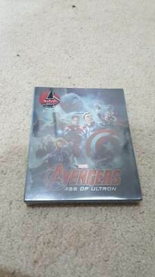 Avengers Age of Ultron NovaMedia Exclusive 007 Lenticular Steelbook Rare Blu-Ray