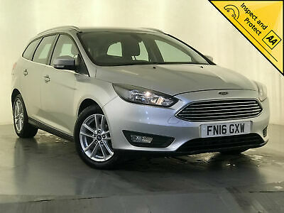 2016 Ford Focus Zetec Tdci Estate Finance P/X Welcome 1 Owner Service History