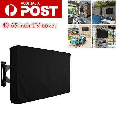 40-65 Inch Waterproof TV Cover Outdoor Patio Flat Television Dustproof Protector