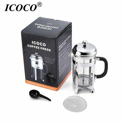 32oz Double Wall Stainless Steel French Press Coffee Maker By Utopia Kitchen EK